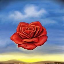 rose.meditative.salvador.dali