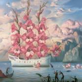 arrival.of.the.flower.ship.vladimir.kush
