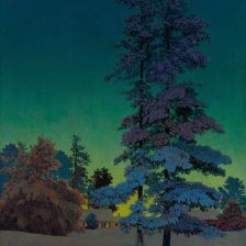 two.tall.pines.maxfield.parrish
